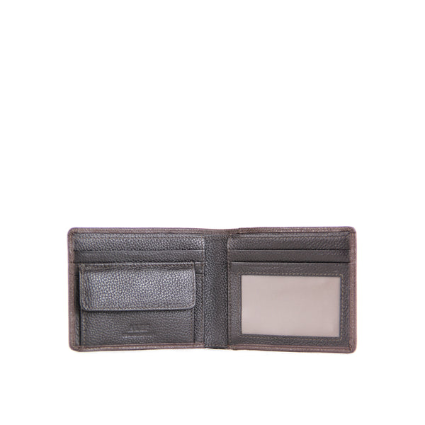 Manhattan Bifold Wallet with Coin Pouch and Card Window