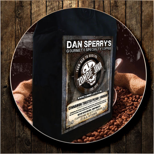 Gourmet Flavored Coffee: Cinnamon Toasted Pecan Specialty Blend