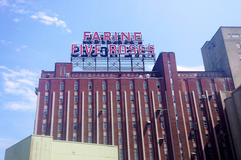 Farine Five Roses, Montreal photo Old Port MTL Flour PLB History Histoire