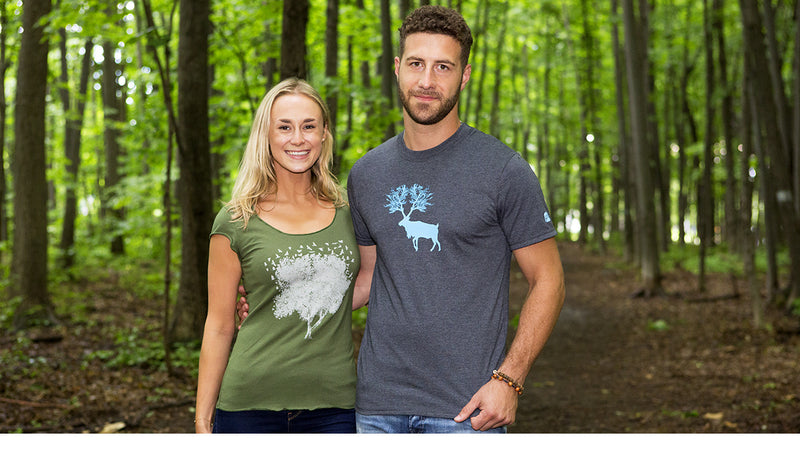Organic Nature T-shirts PLB Ethical Fashion Sustainable