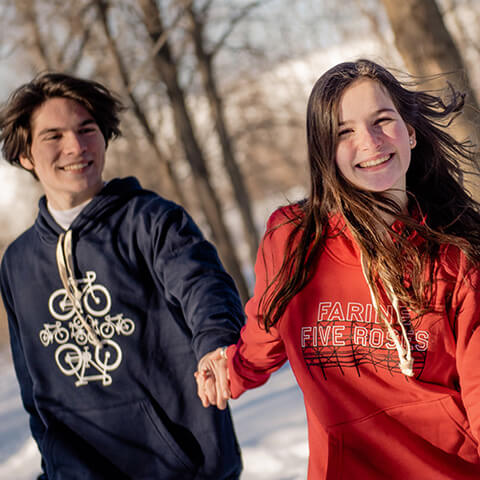 Mission PLB About us Hoodies Winter Bicycles Farine Five Roses Forest Foret Boise Montreal MTL