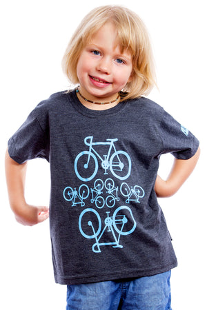 Kids Bicycles Shirt Graphic Tee Tshirt | Vélo Bicyclette Bicicleta Bikes Playera camiseta nino enfant