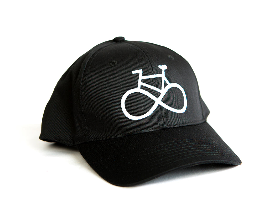 Life cycle cap casquette PLB chapeau hat black noir bicycle bicyclette velo bike infinity infini
