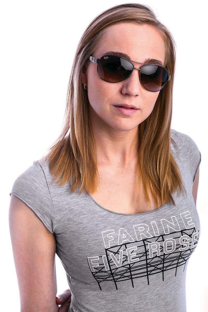 Farine Five Roses Bamboo Gris pale Gray Montreal PLB Womens tshirt top