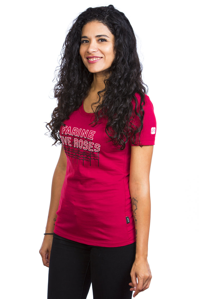 Farine Five Roses T-shirt for Women - Cotton