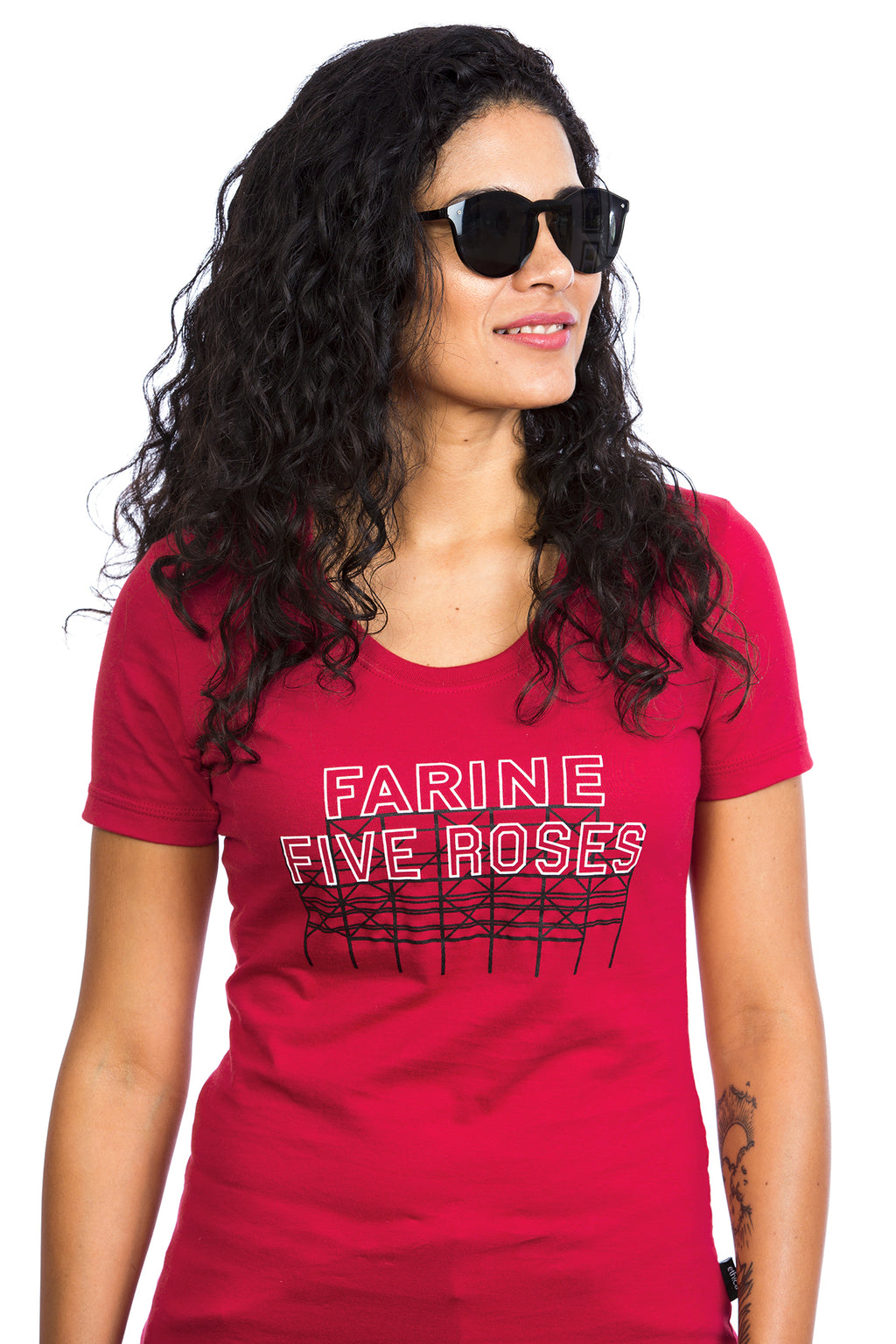 Women's Farine Five Roses T‑shirt - Organic cotton