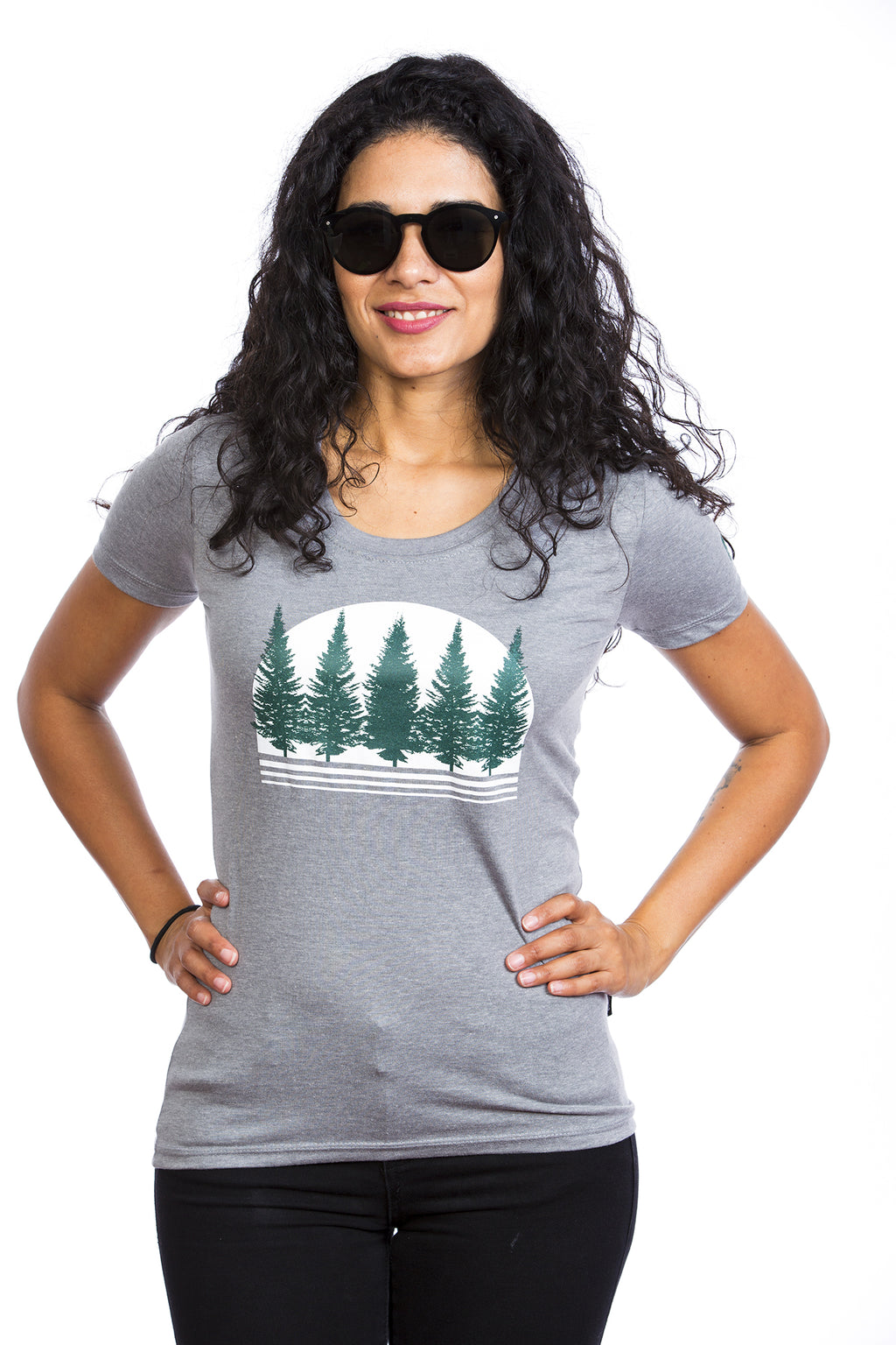 Boreal Forest T-shirt for Women - Cotton