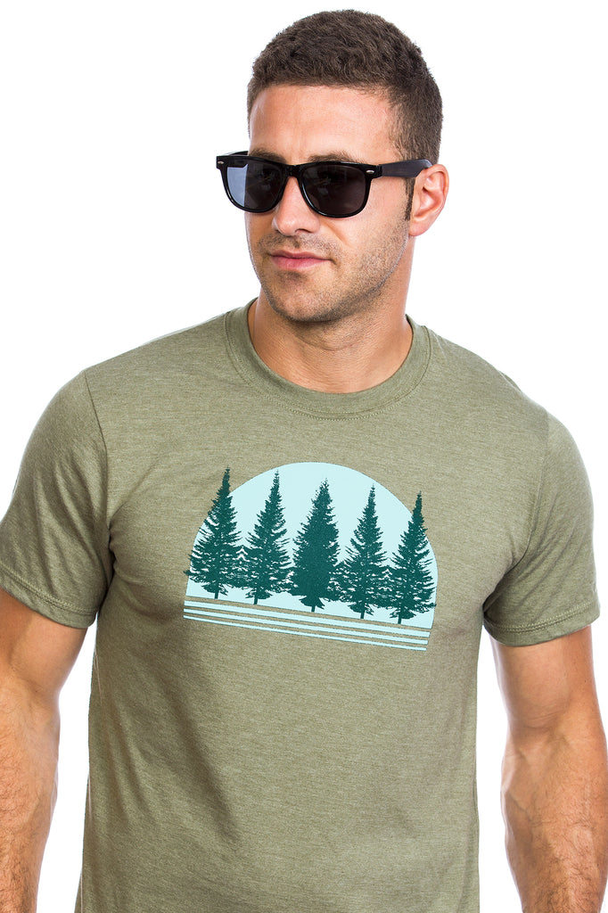 Men's Boreal Forest T-shirt - Organic cotton