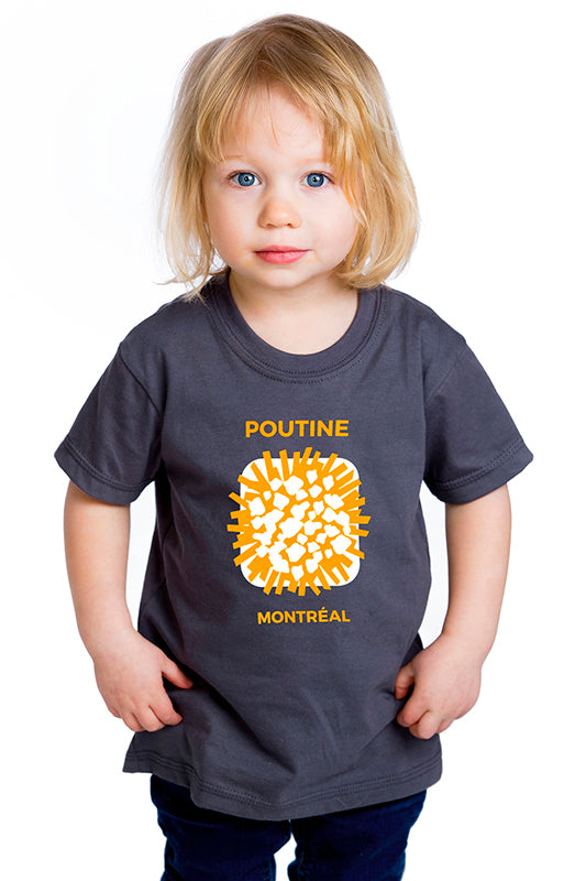 Kids Poutine Montreal T-shirt clearance