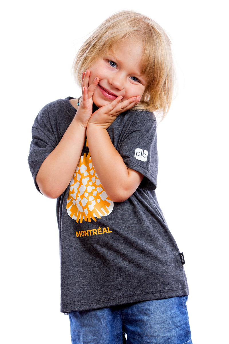 Kids Cool Poutine Organic Quebec Shirt Graphic Tee Tshirt | Montreal, Canada