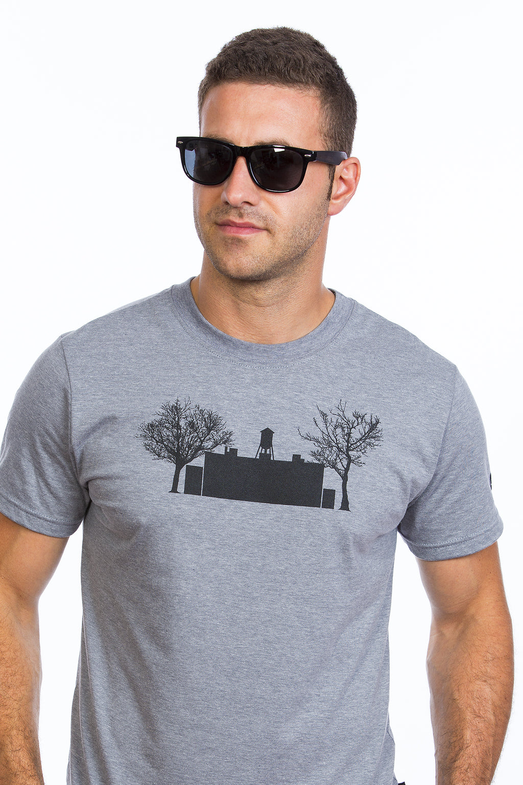 Chateau d'eau Mile End Plateau Mont-Royal gris Homme