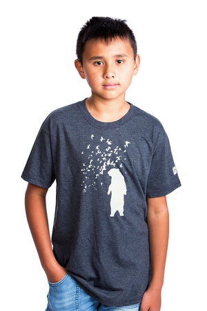 Bear Kids T-shirt Canada Organic