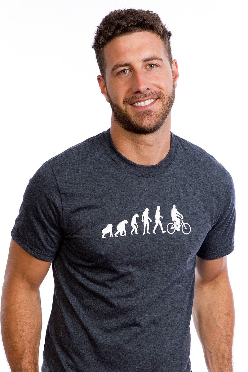 Mens Evolution T-shirt Organic Cotton PLB Bicycle Made in Montreal, Canada | Anthropologie