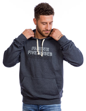 Hoodie Farine Five Roses Montreal Hoody. Made in Canada