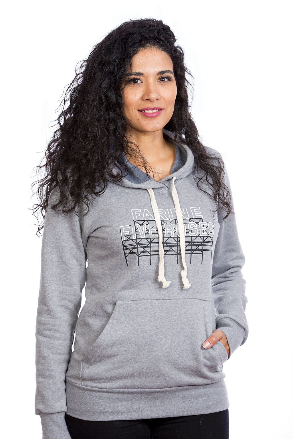 Women's Farine Five Roses Hoodie - Organic cotton