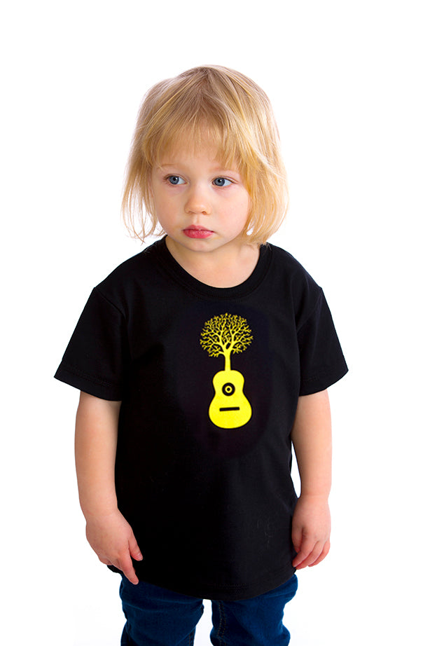 Kids Guitar T-shirt - Organic cotton
