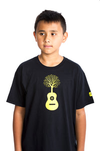 Kids Guitar Shirt Tree Tshirt organic