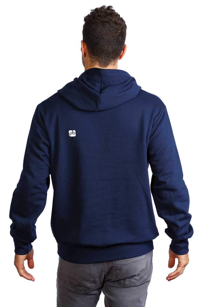 Navy Hoodie from PLB Design