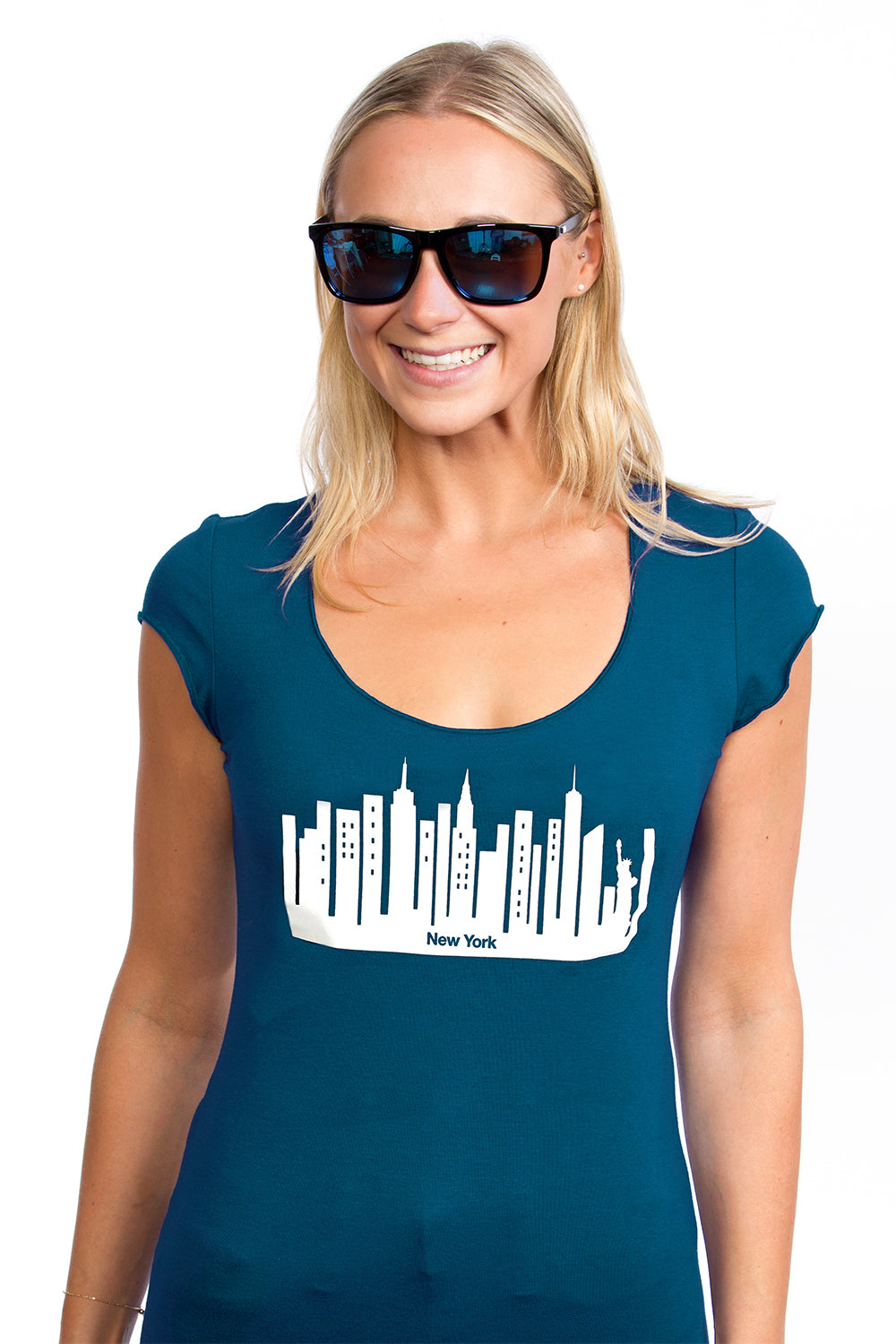Women's New York T-shirt - Bamboo