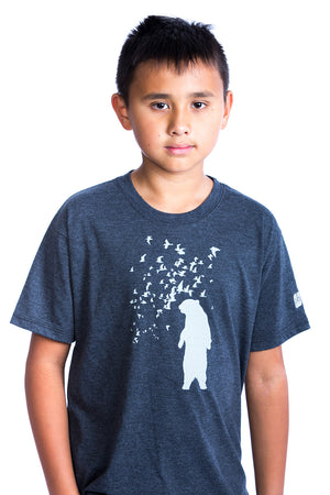 Kids Bear Shirt Graphic Tee Baby Bear Tshirt | Organic | Locally Made