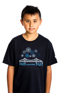 Kids Jacques-Cartier Bridge T-shirt