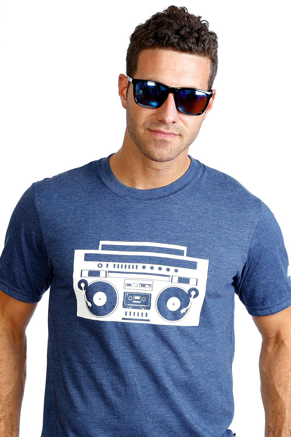 Men's Radio Boombox T-shirt - Organic cotton