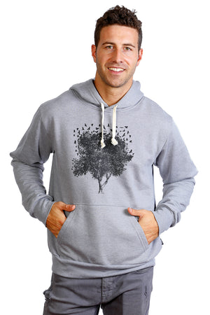 Tree of Life Hoodie Warm Soft Made in Quebec Canada