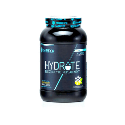 HYDRATE Electrolyte Sports Drink with Taste & Style