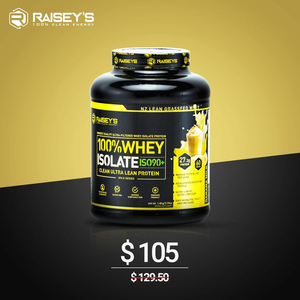 SPECIAL DEAL ISO90+ WHEY ISOLATE 1.8kg