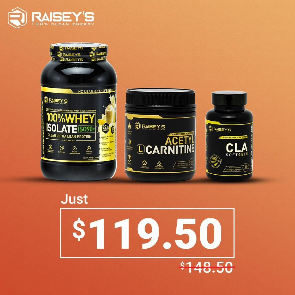 SPECIAL DEAL - ISO90 + L-CARNITINE + CLA