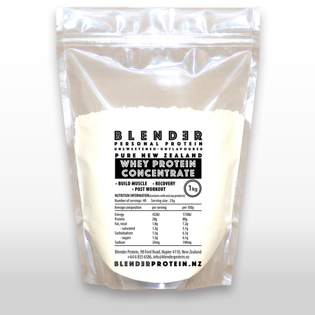 BLENDER WHEY CONCENTRATE 80% Protein 1kg