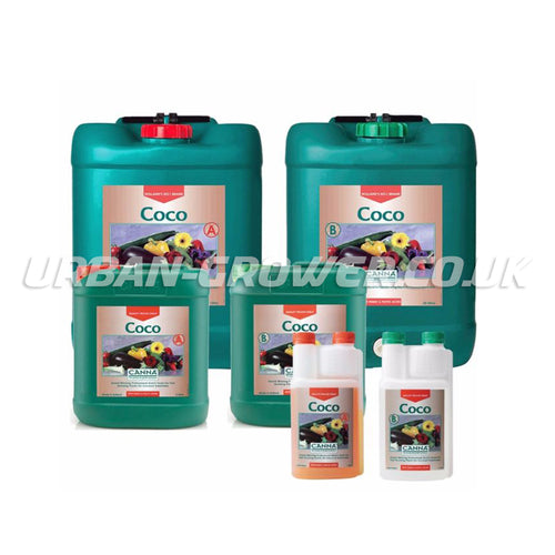 Canna - Coco Nutrient A&B - Urban Grower Hydroponics