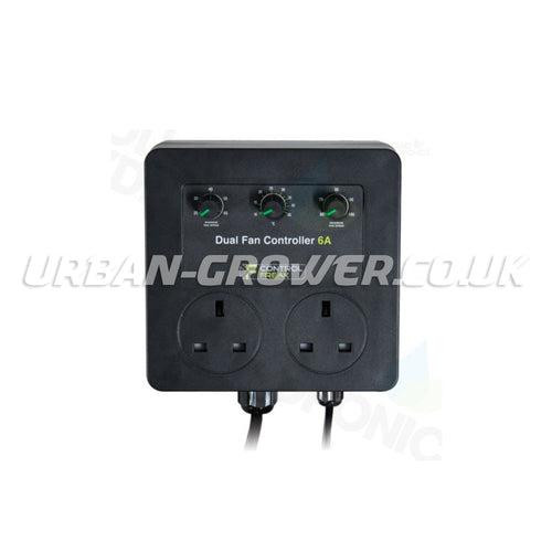 Control Freak 6-Amp Dual Fan Speed Controller - Urban Grower Hydroponics