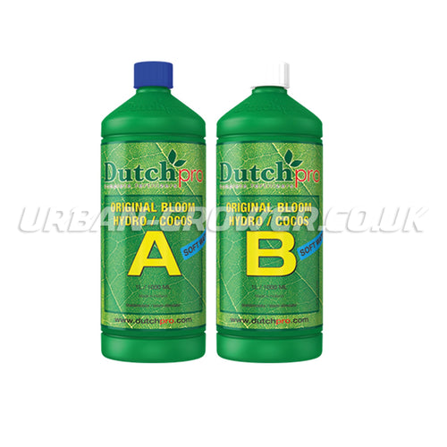 Dutch Pro - Original Bloom - Hydro/Coco A&B - Soft Water - Urban Grower Hydroponics