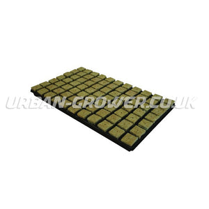 "Rockwool Small (1/2"") Propagation Plugs Full Tray of 150 - Urban Grower Hydroponics"