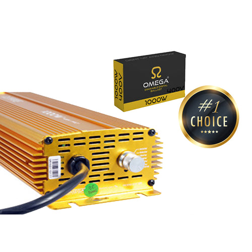 OMEGA 1000w 400v Digital Dimmable Ballast - Urban Grower Hydroponics