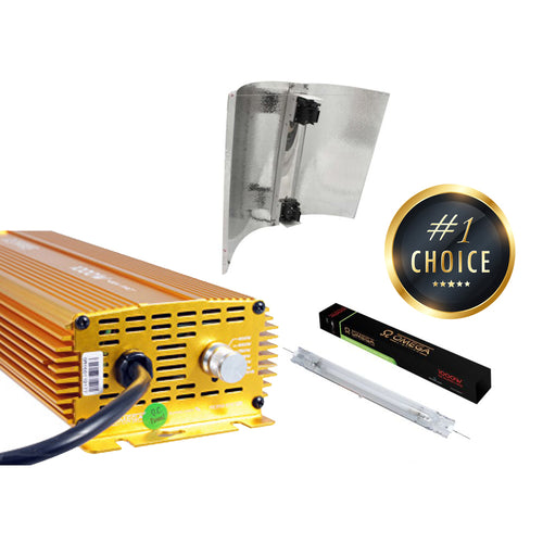 OMEGA DE 1000w 400v Eurowing Digi Light Kit - Urban Grower Hydroponics