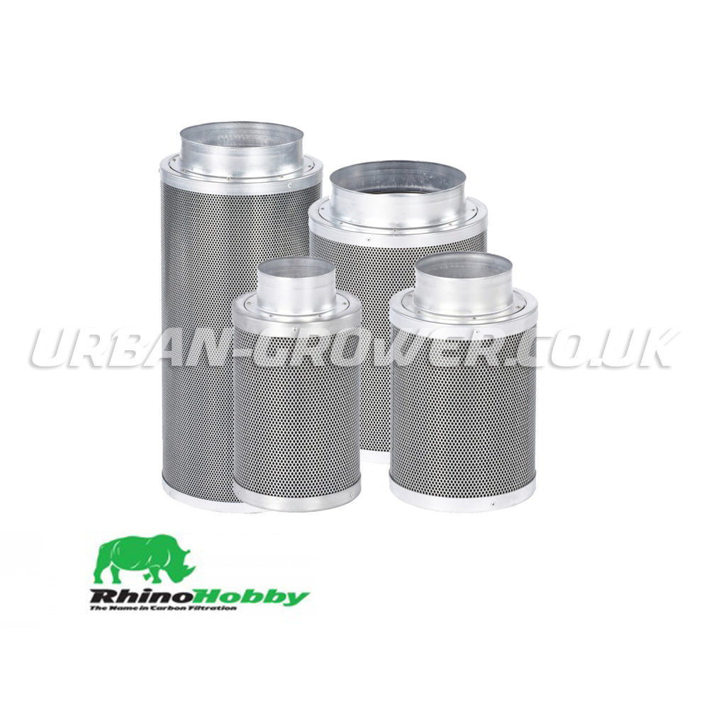 Rhino Hobby Carbon Filter - Urban Grower Hydroponics