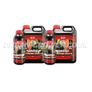 Shogun Fertilisers - Samurai Hydro Bloom Nutrient A&B SW - Urban Grower Hydroponics