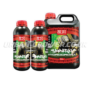 Shogun Fertilisers - Samurai Hydro Grow Nutrient A&B HW - Urban Grower Hydroponics