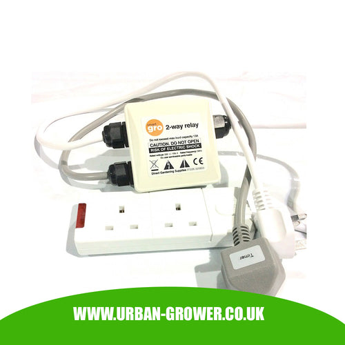 Smart Gro - Contactor Switch - 13-amp Max - See Full Range - Urban Grower Hydroponics