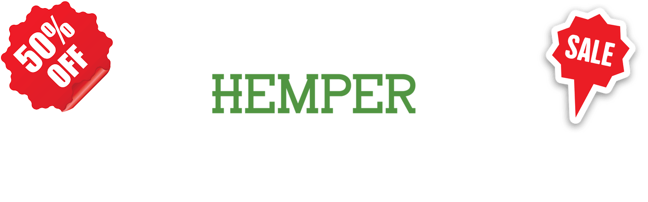 Hemper Coupon Codes and Vouchers