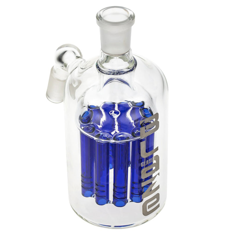 Blaze Glass 11-Arm Reinforced Tree Perc Precooler-Blue