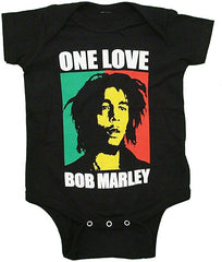 Bob Marley One Love Baby Romper Snapsuit