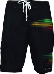 Bob Marley Paint Splatter Board Shorts