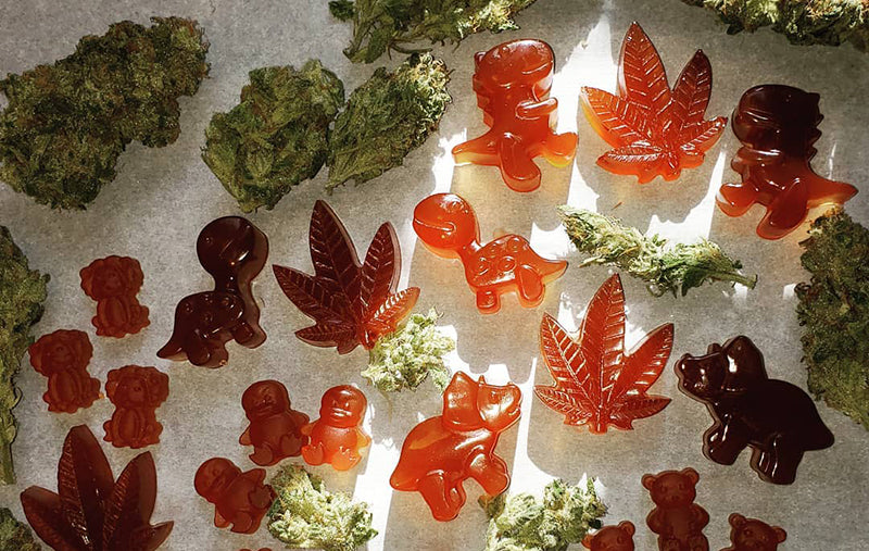 Edibles gummies, image from Emily Ruth 55 on Instagram