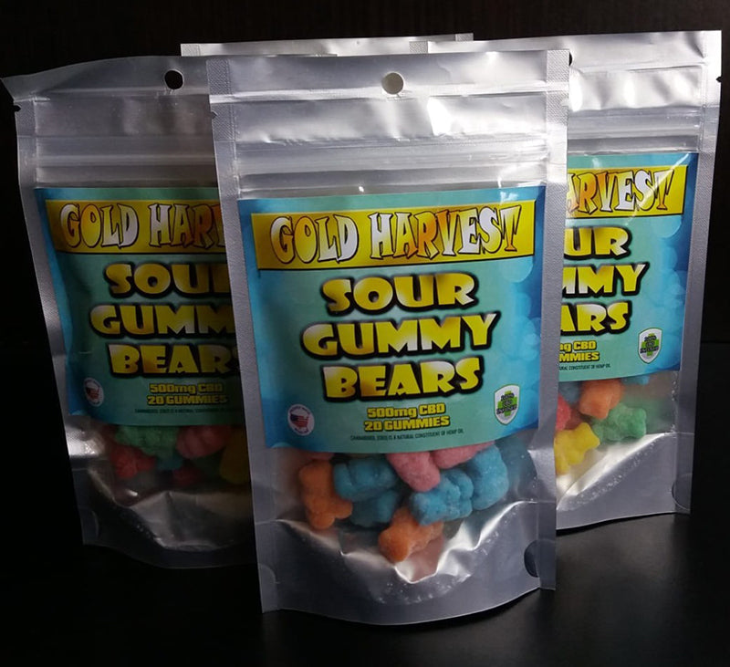 Gold Harvest CBD Gummies