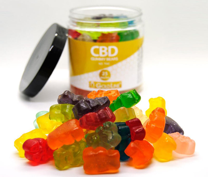 Goldline CBD Gummy Bears