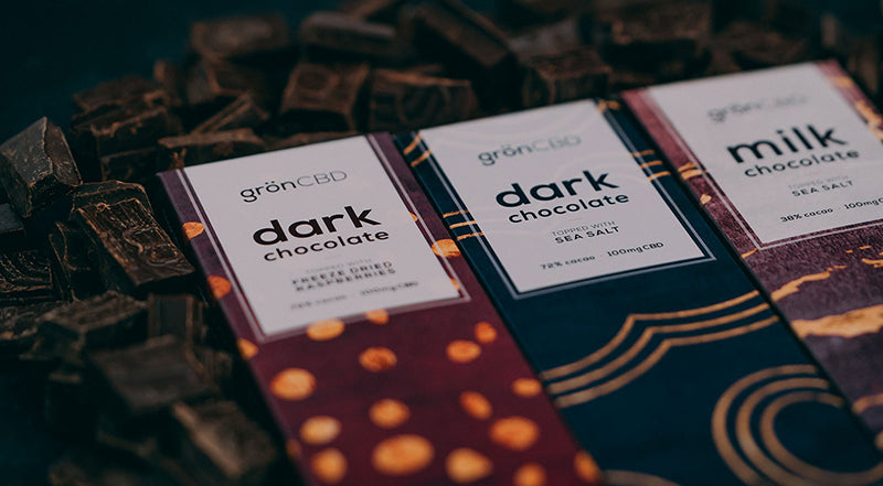 Gron Dark Chocolate Raspberry Bar