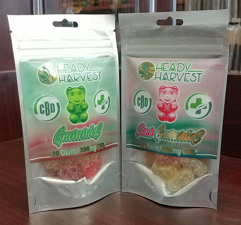 Heady Harvest CBD Gummies, image from My Dream Smoke Shop on Instagram